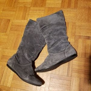 Solanz Shelby Suede Boot, Grey